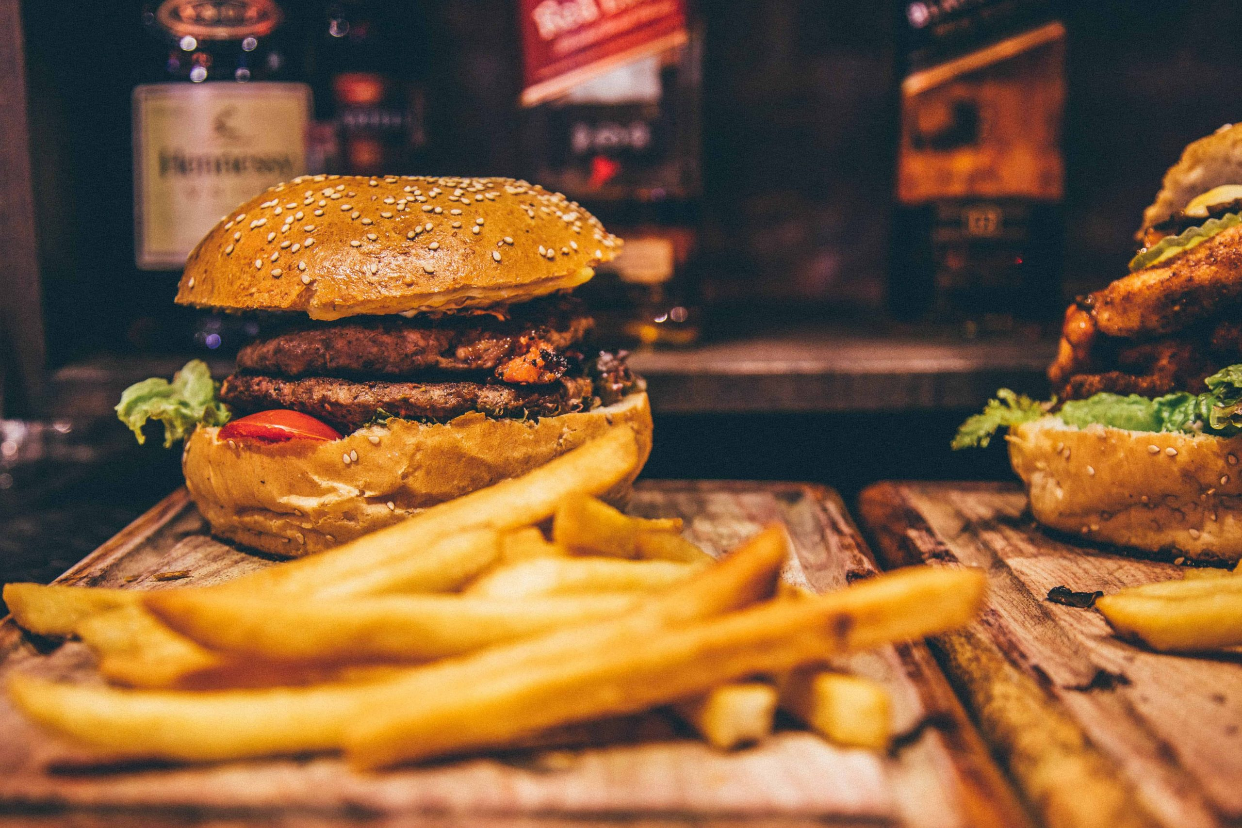 Fette Speisen, Burger