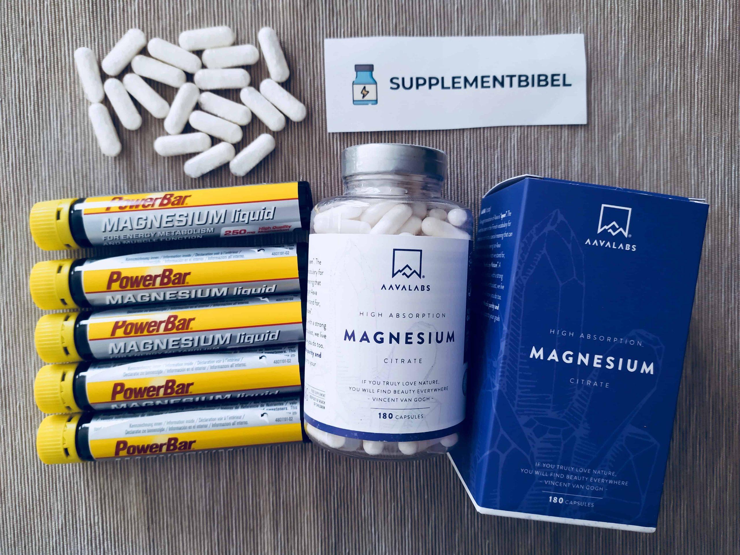 Magnesium: Test, Wirkung, Anwendung & Studien (05/21)