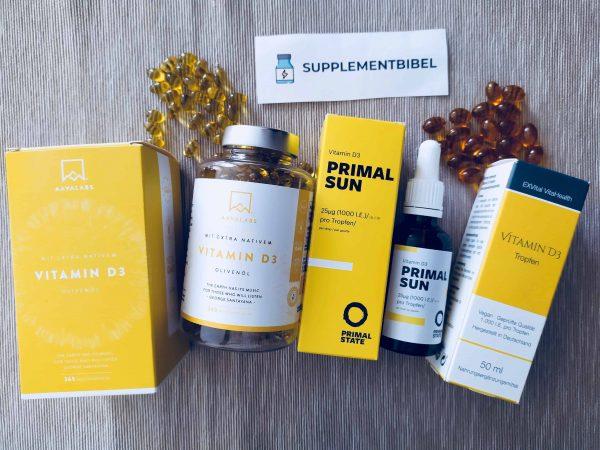 Vitamin D: Test & Empfehlungen (01/20)