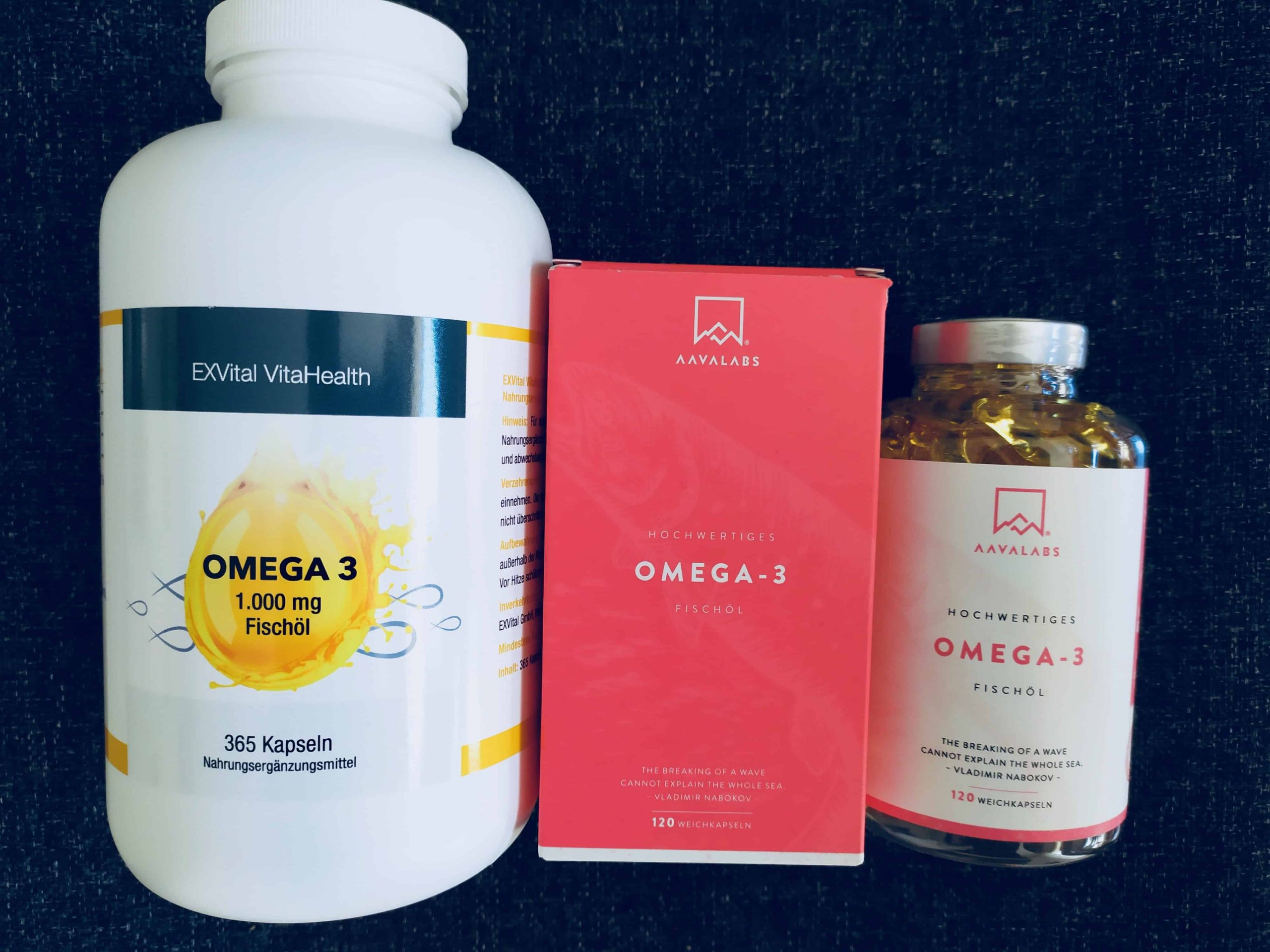 Omega 3 Kapseln: Test & Empfehlungen (03/21)