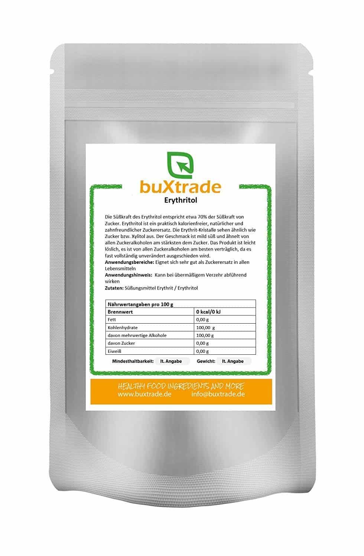 Erythritol | kalorienfreier Zuckerersatz | geschmacklich wie Zucker | natürliche Zuckeralternative | Erythrit | light Zucker VERSCHIEDENE GRÖßEN