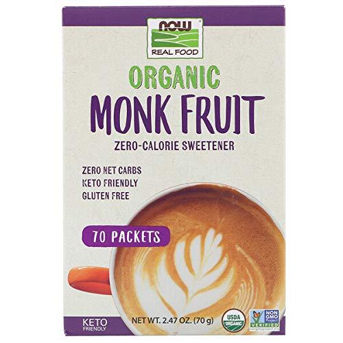 Now Real Food: Kalorienfreier Bio-Süßstoff aus Mönchsfrucht - 70 g