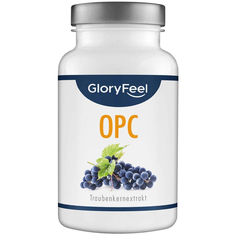 OPC Kapseln - Traubenkernextrakt mit Vitamin C