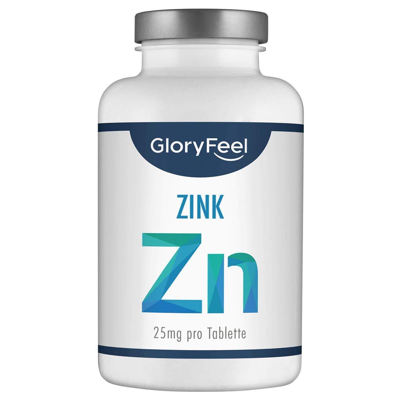 Zink Tabletten, hochdosiert 25mg Zink pro Tablette
