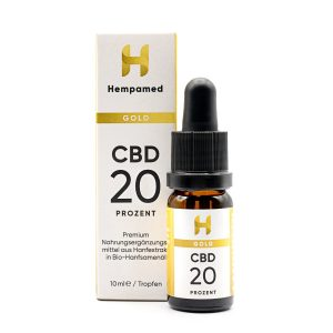 Hempamed Gold CBD Öl (20%)