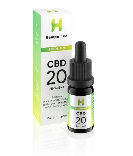 CBD Öl Premium (20%) von Hempamed
