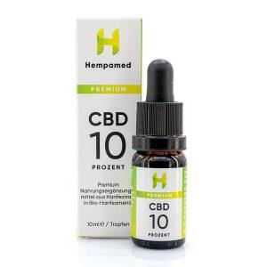Hempamed Premium CBD Öl (10%)