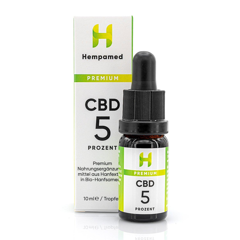 Hempamed Premium CBD Öl (5%)