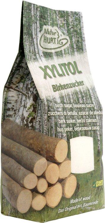 Natur Hurtig Xylitol Birkenzucker aus Baumrinde
