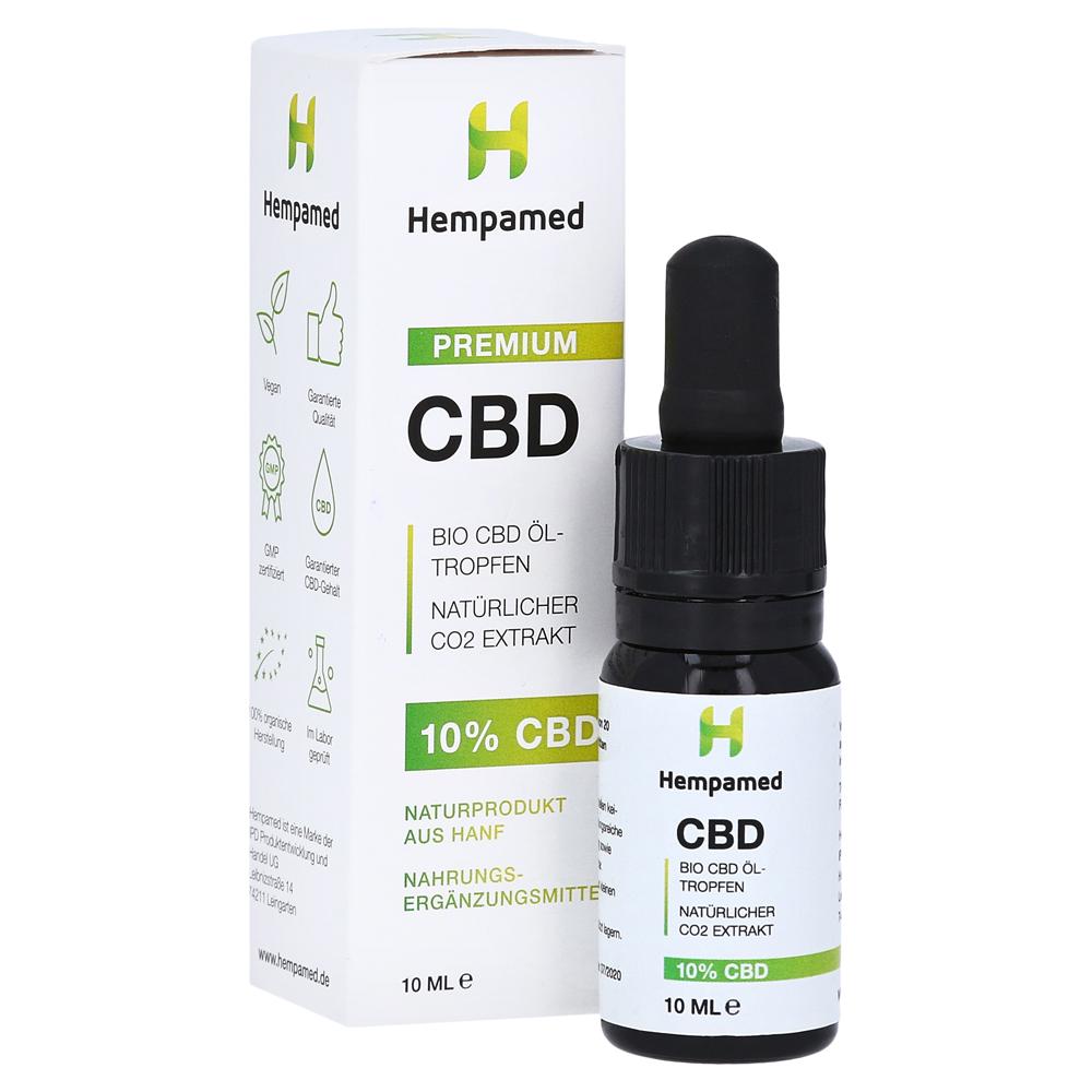 Hempamed Premium CBD-ÖL. 10%