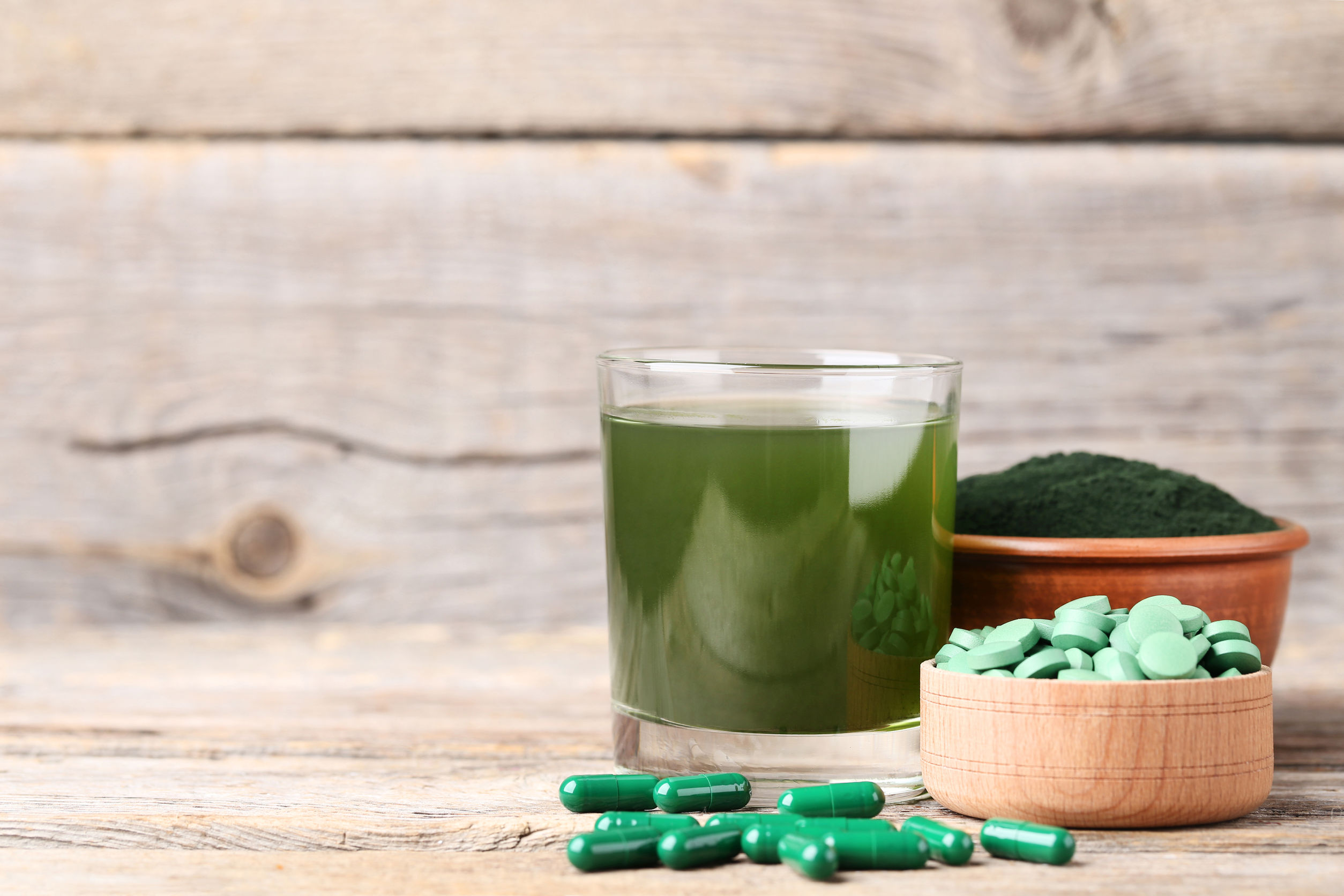 Chlorella Tabletten