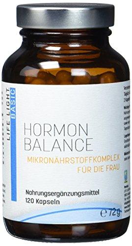 LIFE LIGHT Hormon Balance (Mikronährstoffkomplex mit Frauenmantel und Yamswurzel, 120 Kapseln)