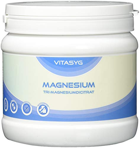 Vitasyg Tri-Magnesiumdicitrat Pulver - Magnesium Citrat, 1er Pack (1 x 500 g)